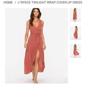 a42067e46b l space Dresses - L SPACE Twilight Wrap Dress
